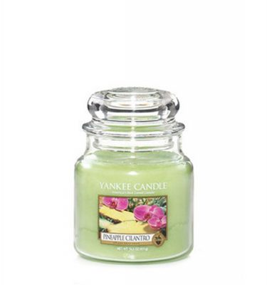 Pineaple Cilantro Yankee Candle