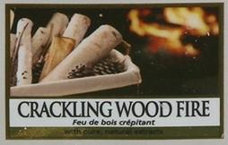 Crackling Wood Fire